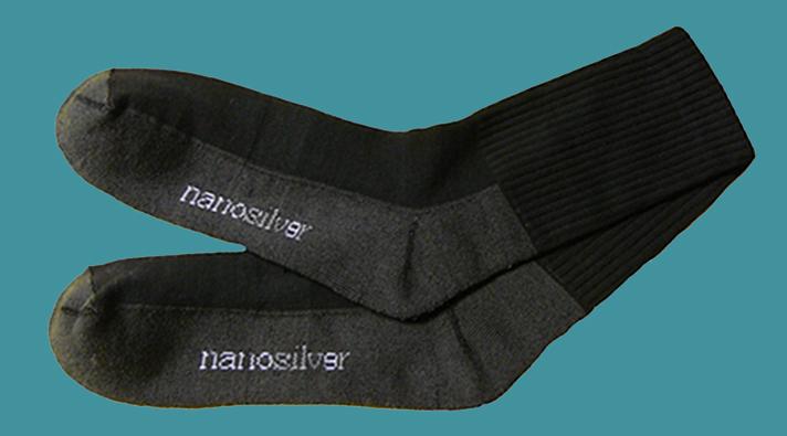 Nanosilver ponožky športové čierne - Nanotechnologie.sk aea335a013